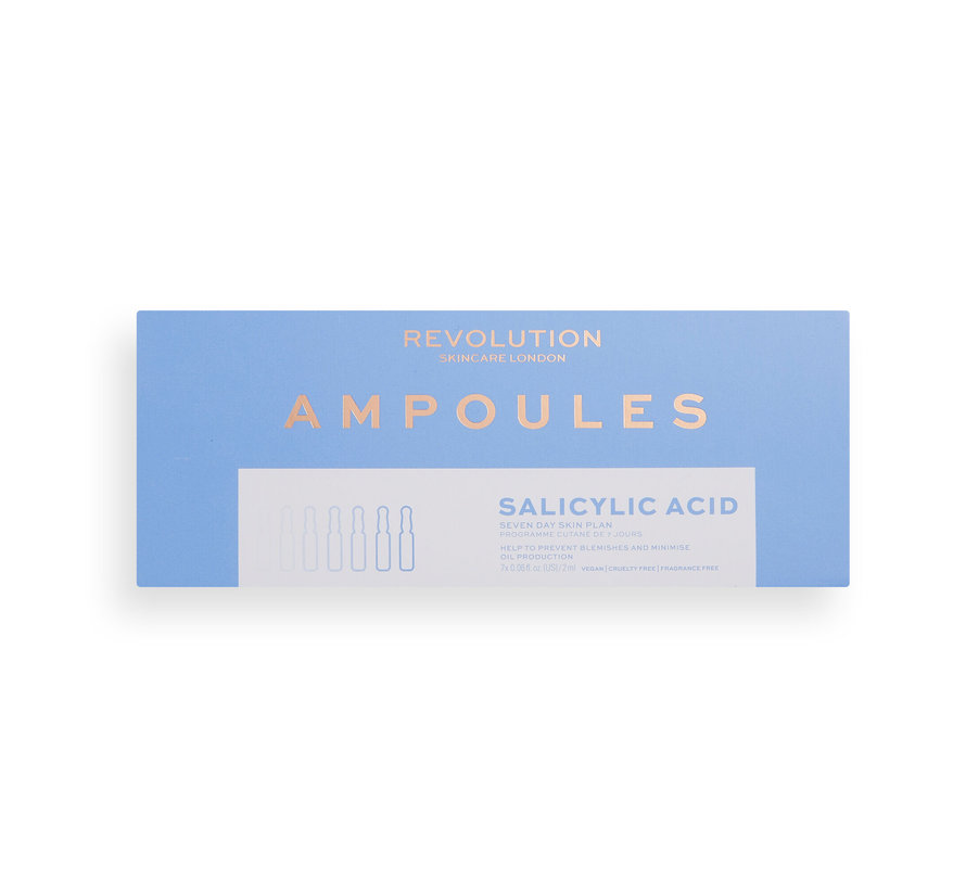 Salicylic Acid  Anti Blemish 7 Day Ampoules