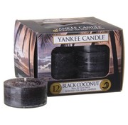 Yankee Candle Black Coconut - Tea Lights