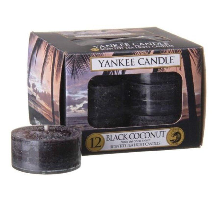 Black Coconut - Tea Lights