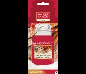 Yankee Candle Sparkling Cinnamon - Car Jar