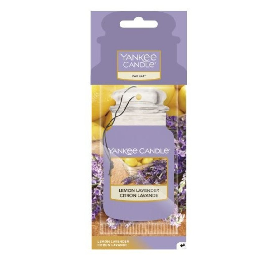 Lemon Lavender - Car Jar