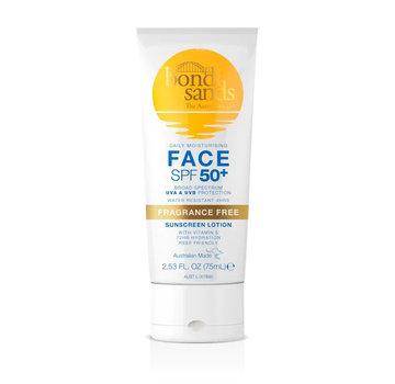 Bondi Sands Face Sunscreen Lotion Fragrance Free - SPF 50+
