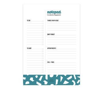 Studio Stationery Noteblock Creatively Organized