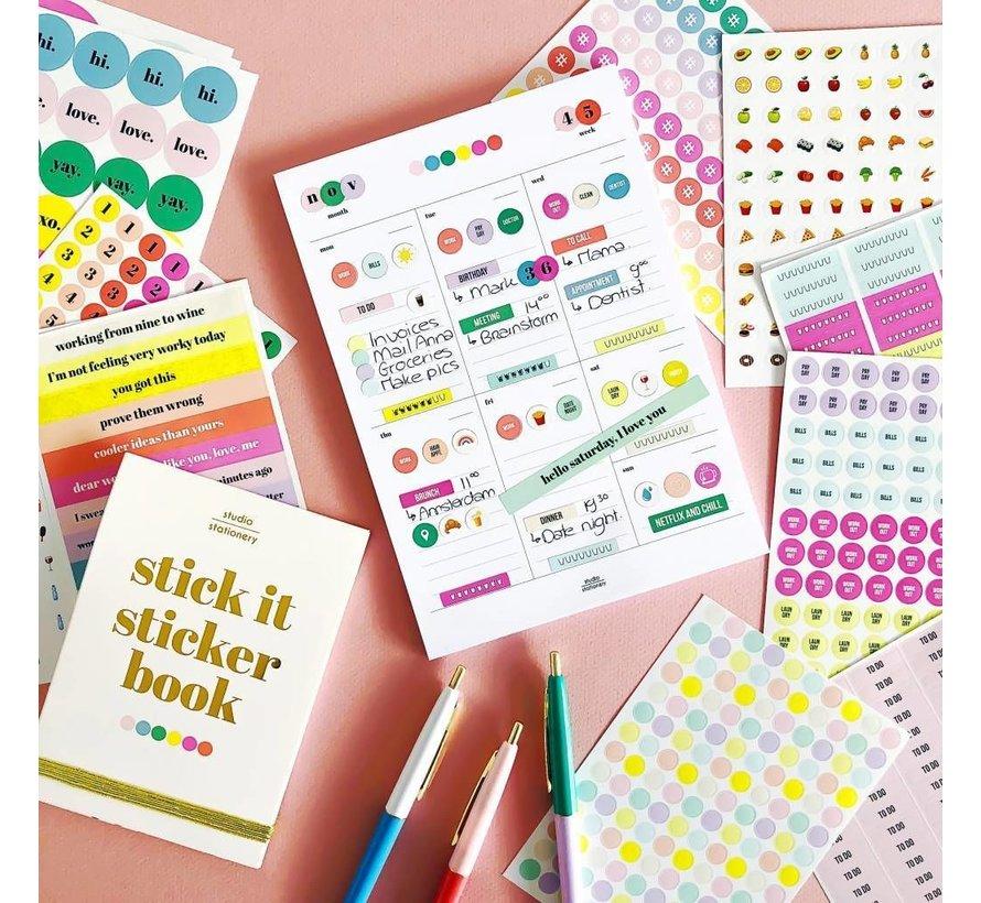 Noteblock Sticker Planner