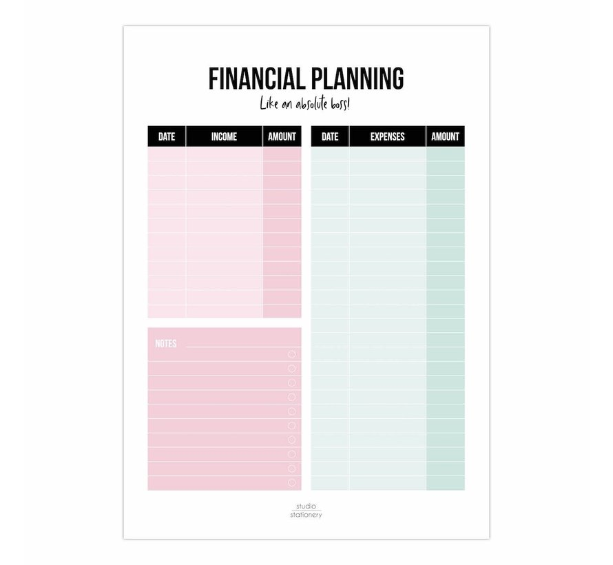 Noteblock Financial Planning