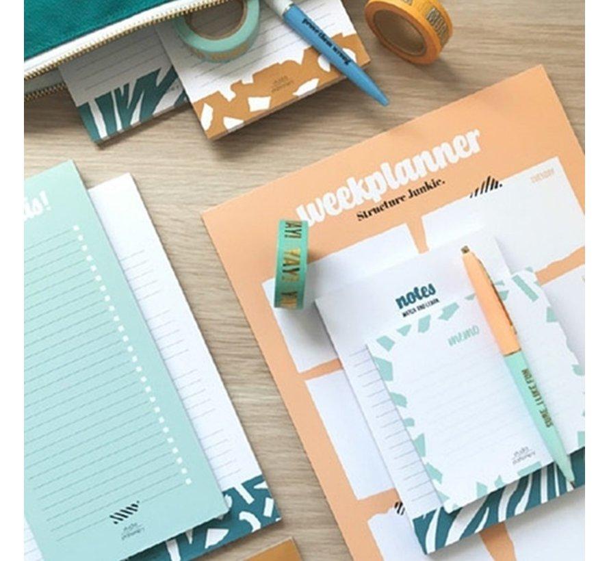 Noteblock Checklist - I Got This Mint