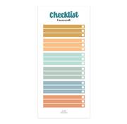 Studio Stationery Noteblock Checklist - Im On A Roll
