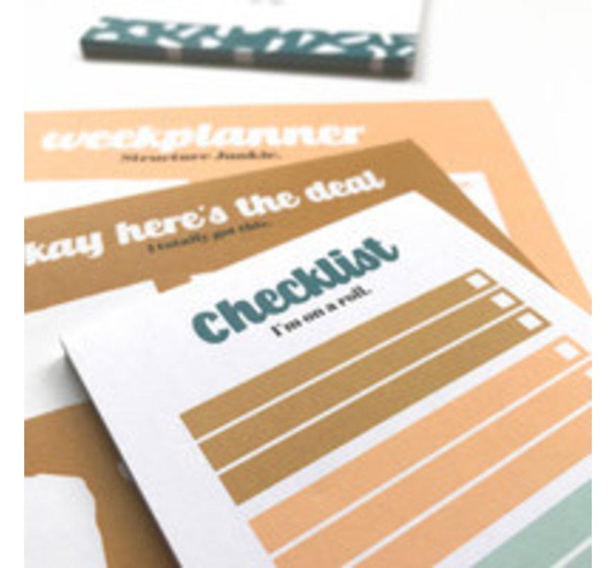 Noteblock Checklist - Im On A Roll