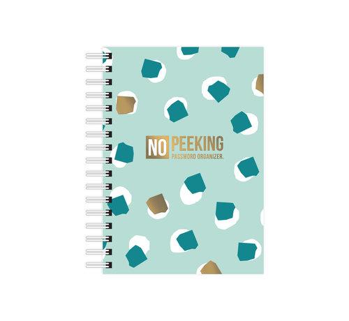 Studio Stationery Notebook No Peeking Password Organizer