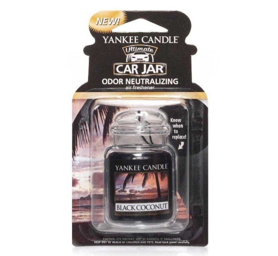 Black Coconut Car Jar Ultimate