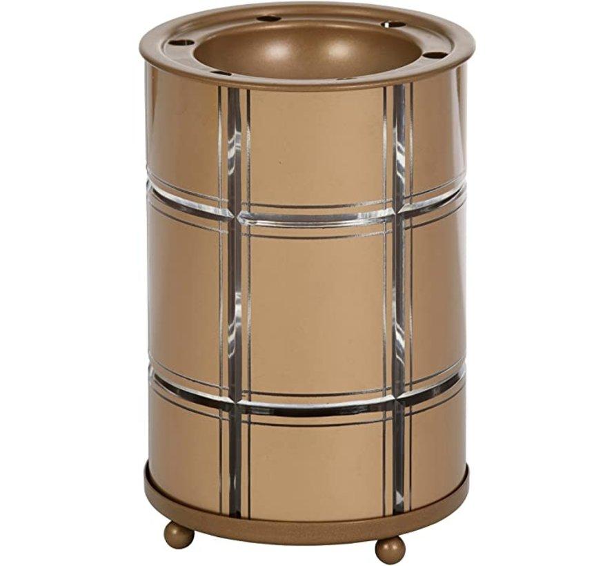 Golden Etched Melt Warmer