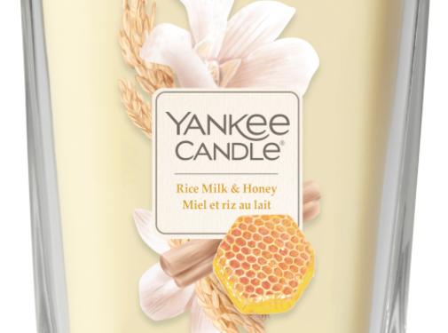 Yankee Candle Rice Milk & Honey - Large Vessel