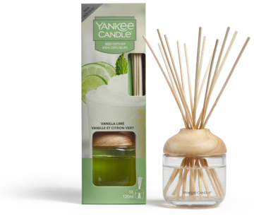 Yankee Candle Vanilla Lime - Reed Diffuser
