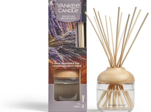 Yankee Candle Dried Lavender & Oak - Reed Diffuser