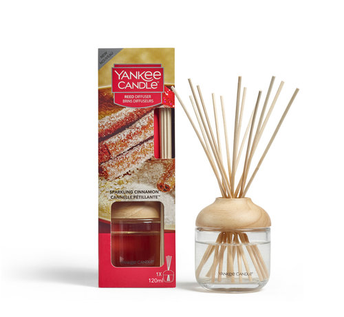 Yankee Candle Sparkling Cinnamon - Reed Diffuser
