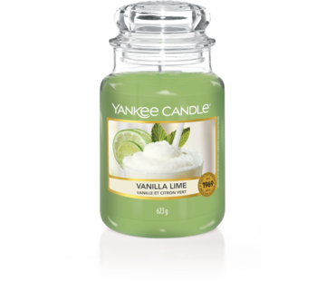 Yankee Candle Vanilla Lime - Large Jar