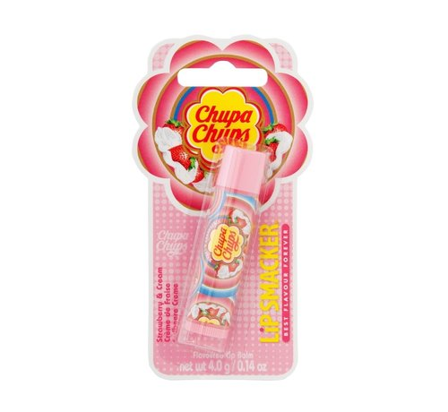 Lip Smacker Chupa Chups - Strawberry & Cream - Lip Balm