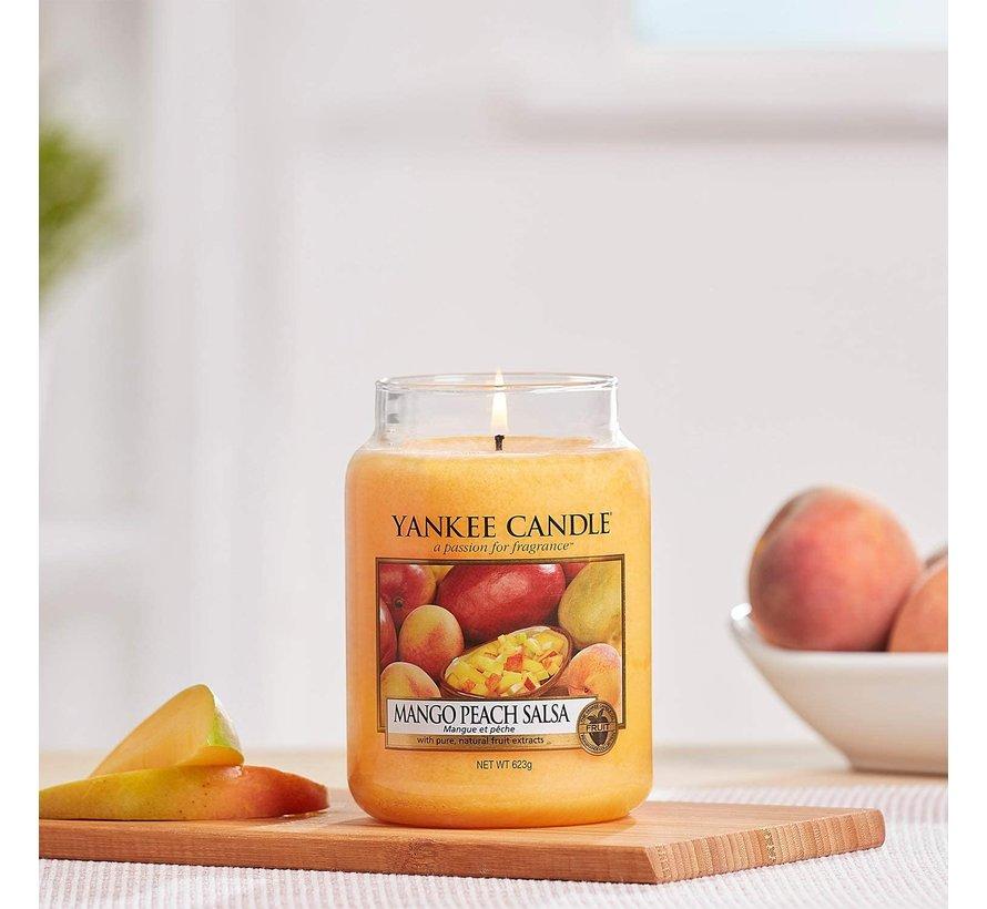 Mango Peach Salsa - Large Jar