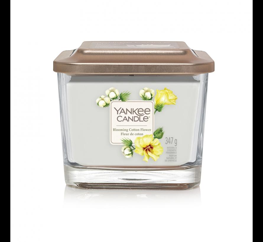 Blooming Cotton Flower - Medium Vessel