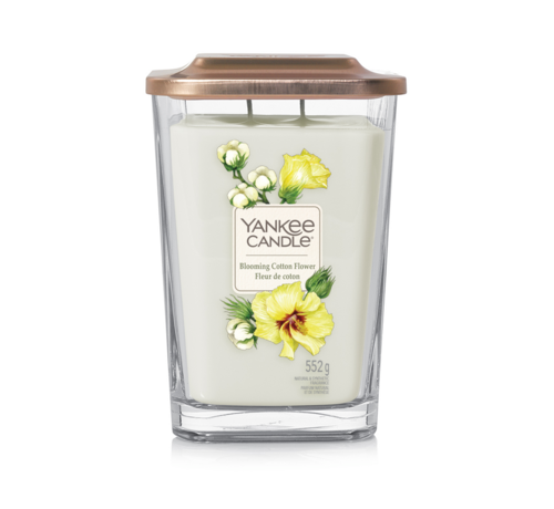 Yankee Candle Blooming Cotton Flower - Large Vessel
