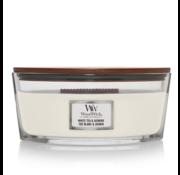 WoodWick White Tea & Jasmine - Ellipse Candle