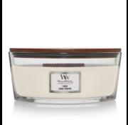 WoodWick Linen - Ellipse Candle