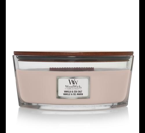 WoodWick Vanilla & Sea Salt - Ellipse Candle