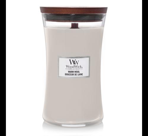 WoodWick Warm Wool - Large Candle