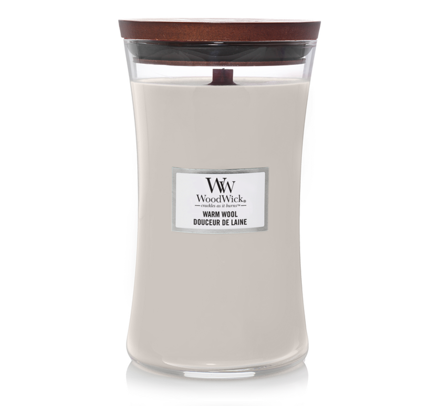 Warm Wool - Large Candle