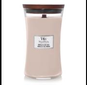 WoodWick Vanilla & Sea Salt - Large Candle