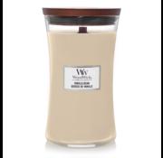 WoodWick Vanilla Bean - Large Candle