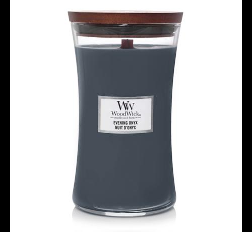 WoodWick Evening Onyx - Large Candle