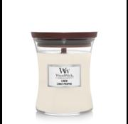 WoodWick Linen - Medium Candle