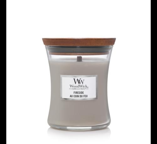 WoodWick Fireside - Medium Candle