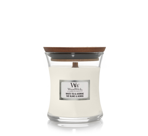 WoodWick White Tea & Jasmine - Mini Candle
