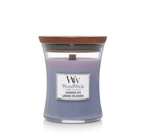 WoodWick Lavender Spa - Mini Candle