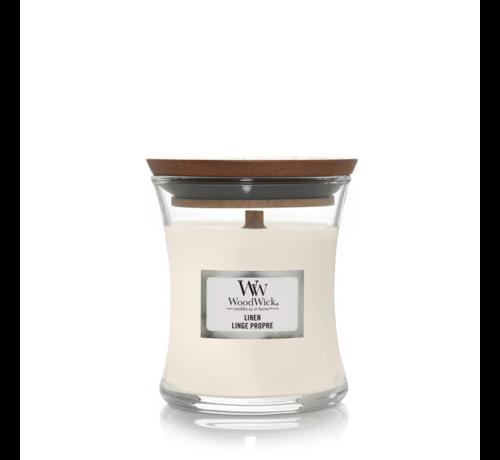WoodWick Linen - Mini Candle