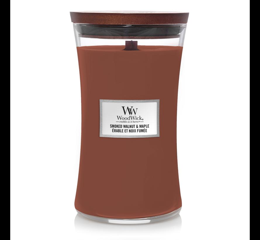 Smoked Walnut & Maple - Large Candle