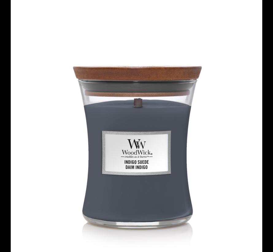 Indigo Suede - Medium Candle