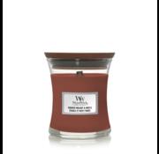 WoodWick Smoked Walnut & Maple - Mini Candle