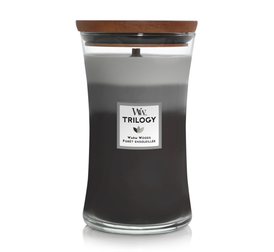 Trilogy Warm Woods - Large Candle