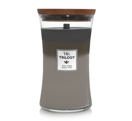 WoodWick Trilogy Cozy Cabin - Large Candle
