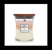 WoodWick Trilogy Island Getaway - Medium Candle