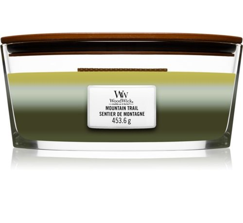 WoodWick Trilogy Mountain Trail - Ellipse Candle