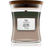 WoodWick Trilogy Cozy Cabin - Medium Candle