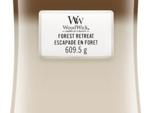WoodWick Trilogy Forest Retreat - Large Candle