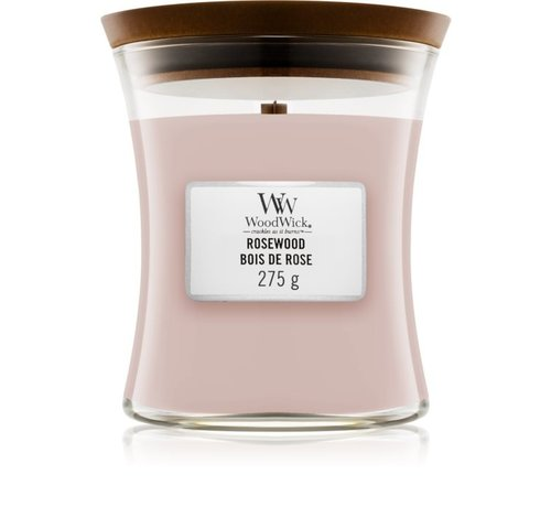 WoodWick Rosewood - Medium Candle