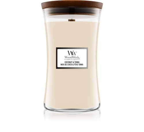 WoodWick Coconut & Tonka - Large Candle