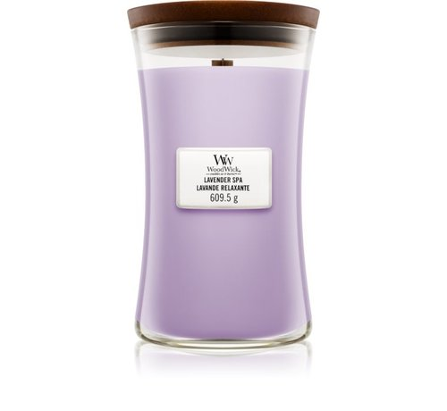 WoodWick Lavender Spa - Large Candle