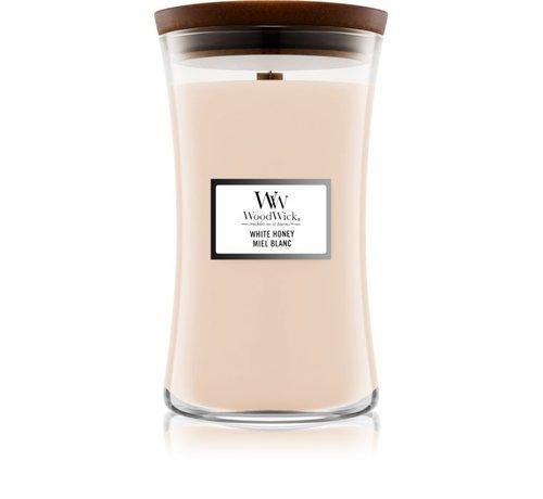 WoodWick White Honey - Large Candle